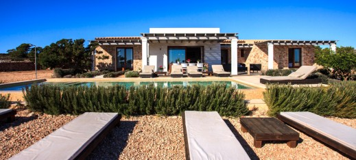 Our Formentera villas - Can Santolina - 4 bedroom villa