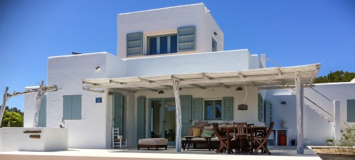Our Formentera villas - Can Blanca - 3 bedroom villa