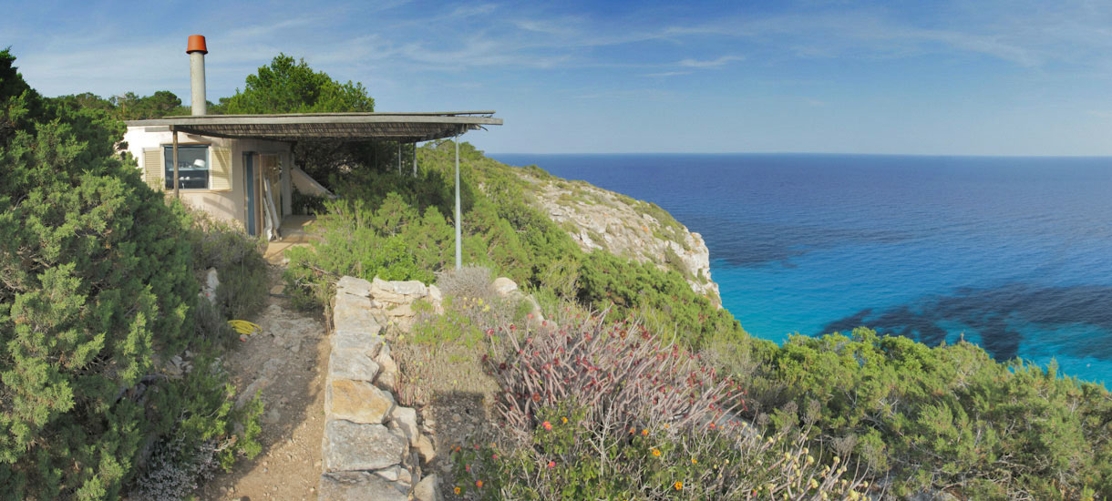 Formentera sea view villa - Can Pau Outside - La Mola - Villas Formentera